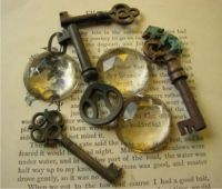 A Quotable Quote On Books and Keys  By Emilie Poulsson