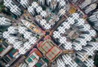 Drone Photos of Kowloon Walled City