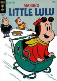 Little Lulu: The Baby Carriage Sled