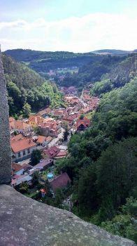 Výhled z Karlštejna