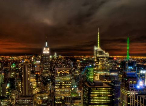 Top of the Rock - Lower Manhattan View