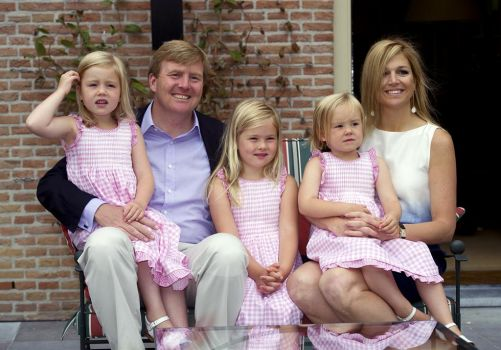 King Willem-Alexander and his family (the Netherlands)