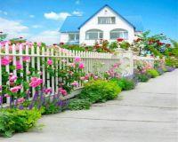 Cottage & Beautiful Garden