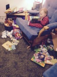 The little reader.