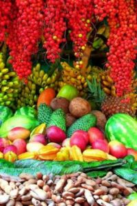 Colombian fruits