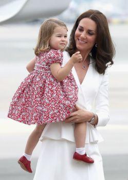 Kate and Princess Charlotte