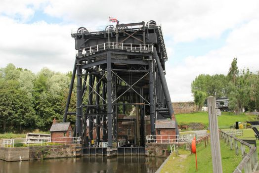 Anderton Boat Lift, Cheshire, England