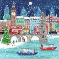 SNOWY LONDON EVENING