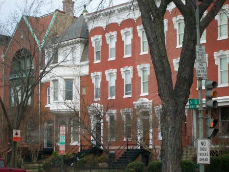 Row Houses on Capitol Hill, Washington, DC