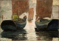 Winslow Homer, An Afterglow