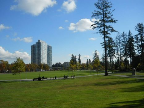 stroll through the park - Vancouver, Canada