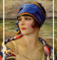 woman-at-beach Edna Crompton
