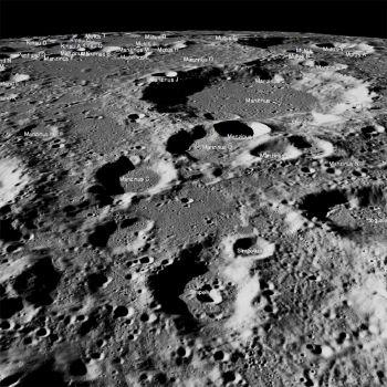 Moon High Resolution from India's Chandrayaan 2