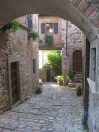 Montefioralle, Italy
