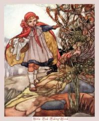 The Short Story of Little Red Riding Hood