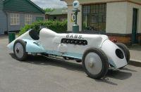 BABS. Land Speed Record Car, 1926. Brooklands Museum, Weybridge, England.