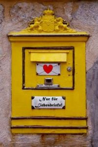 mailbox for LOVE Letters