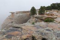 Edge Of The  Precipice In Colorado NM
