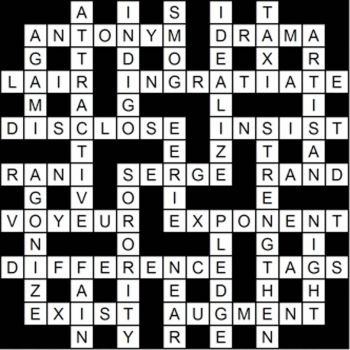 Crossword anyone?