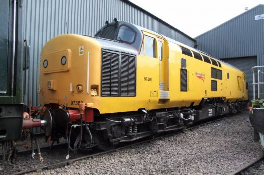 ex-Class 37 97303 at Barrow Hill - 5th Apr 2009