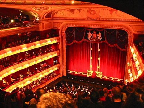 LONDON - ROYAL OPERA HOUSE, COVENT GARDEN