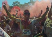 Lewis in the sydney colour run