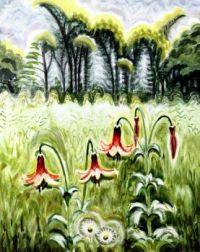 Wood Lilies by Charles Burchfield