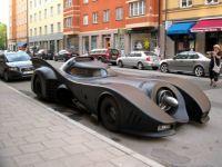 Batmobile in Stockholm, smaller