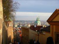 Praha Staré zámecké schody