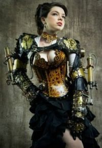 Beautiful Lady steampunk