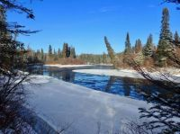 The Magpie River, Wawa, Ontario