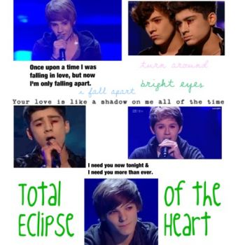 One Direction- Total Eclipse of the Heart