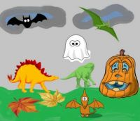 A Dinosaur Halloween
