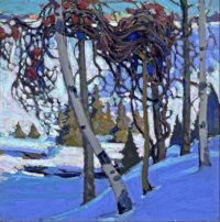 Early-Snow by Tom Thomson