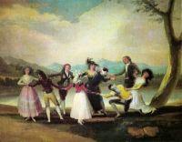 Goya - Blind man's bluff (1789)