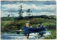 Winslow Homer, The Blue Boat (1892)