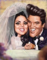 Elvis and Pricilla