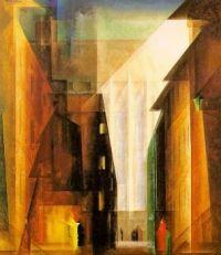 "Lyonel Feininger painting ""Church"""