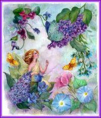 Lilac Enchanting Flower Fairy