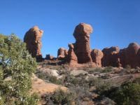 Arches NP #8--Some Hoodoos