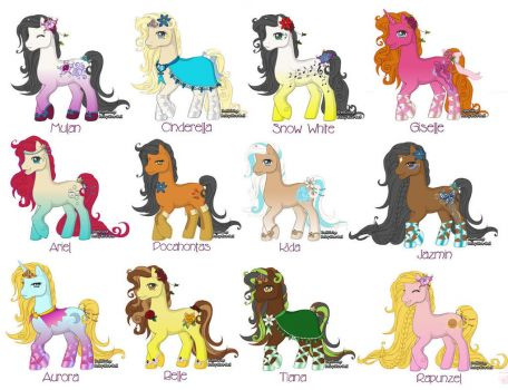 Little Pony Princesses