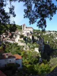 Saint-Cirq Lapopie, The Lot Valley, France
