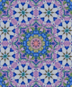 Country Garden Kaleidoscope