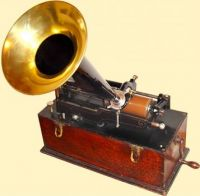 Theme, antiques: gramophone #2