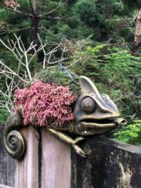 Chameleon sculpture (Taipei Zoo, Taiwan)