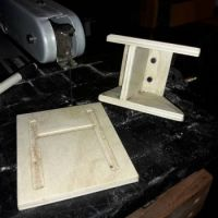 Milling a rc motor mount