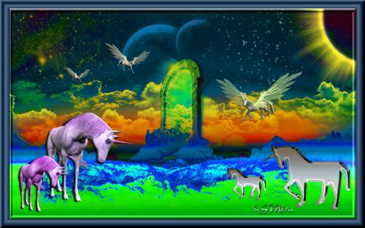 WEEKLY THEME:  Mythical, Magical, Mysterious Creatures... The Magic of Unicorns ....