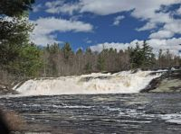 Lampson Falls revisited: Falls from the outlet