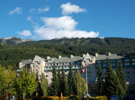 Our hotel, WHistler, BC