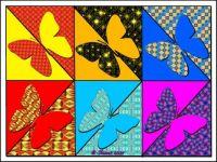 Half and Half Butterflies